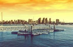 San Diego zmierzch Obraz Royalty Free