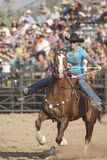 San Dimas Barrel Race Royalty Free Stock Photo
