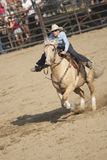 San Dimas Barrel Race Stock Photo