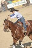 San Dimas Barrel Race royalty free stock photography