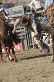 San Dimas Rodeo Saddle Bronc Stock Photos