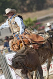 San Dimas Rodeo Saddle Bronc Stock Photo