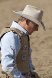 San Dimas Rodeo Saddle Bronc Stock Images