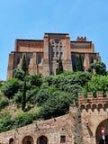 San Domenico Basilica, Sienne, Toscane, Italie Photographie stock libre de droits