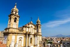 San Domenico Church in Palermo, Italy Royalty Free Stock Photo