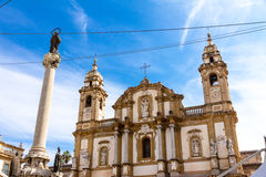 San Domenico Church in Palermo, Italy Royalty Free Stock Images