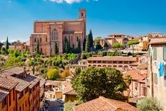 San Domenico church, Siena Stock Image
