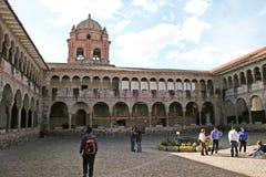 San domenico cloister Stock Photos