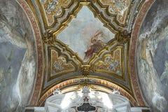San Domenico Maggiore church, Naples Italy Royalty Free Stock Photo