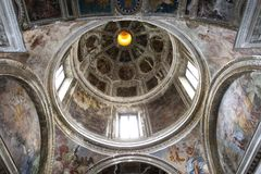 San Domenico Maggiore church, Naples Italy Royalty Free Stock Image