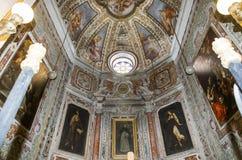 San Domenico Maggiore church, Naples Italy Stock Image