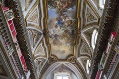 San Domenico Maggiore church, Naples Italy Stock Photography