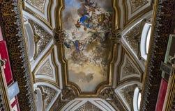 San Domenico Maggiore church, Naples Italy Stock Photo