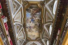 San Domenico Maggiore church, Naples Italy Stock Photos