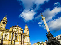 San Domenico, Palermo stockfotos