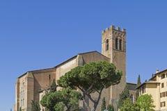 San Domenico in Siena Stock Images