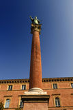 San Domenico Statue - Bologna - Italy Royalty Free Stock Photography