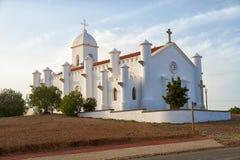 San Domingos Church. Corte do Pinto. Mertola. Alentejo, Portuga stock photography