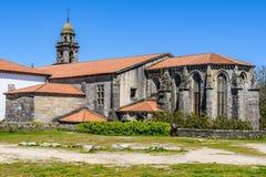 San Domingos Church em Santiago de Compostela, Espanha Fotos de Stock Royalty Free