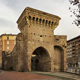 San Donato gate Bologna Stock Image