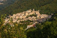 San Donato Val di Comino, Frosinone Lizenzfreie Stockfotos