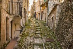 San Donato Val di Comino, Frosinone Lizenzfreies Stockfoto