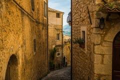 San Donato Val di Comino, Frosinone Stockfoto
