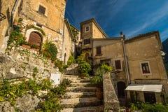 San Donato Val di Comino, Frosinone Stock Photo