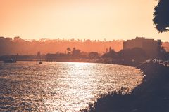 San du nord Diego Bay Photo stock