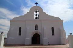 San Elizario Chapel Stock Photography