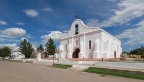 San Elizario Presidio Chapel. Exterior of the San Elizario Presidio Chapel in San Elizario, Texas Royalty Free Stock Image