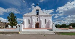 San Elizario Presidio kaplica fotografia royalty free