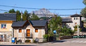 San Emiliano - cidade situada na província de Leon Foto de Stock Royalty Free