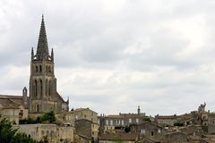 San-Emilion, Francia Fotografia Stock Libera da Diritti