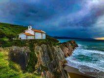 San Ermita Telmo de obraz royalty free