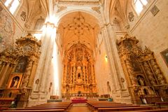 San Esteban Church Royalty Free Stock Images