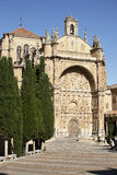 San Esteban Church in Salamanca, Spain Royalty Free Stock Photo