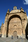 San Esteban church in Salamanca Stock Images