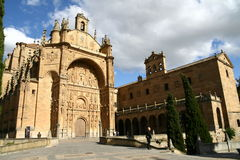 San Esteban church in Salamanca Royalty Free Stock Images