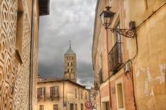 San Esteban Church in Segovia, Spain Royalty Free Stock Photo