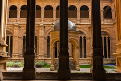 San Esteban convent cloister in Salamanca Stock Photography