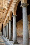 San Esteban Convent in Salamanca of Spain Stock Images