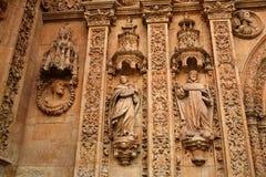 San Esteban Convent in Salamanca of Spain Royalty Free Stock Photos