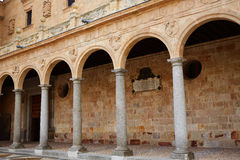 San Esteban Convent in Salamanca of Spain Royalty Free Stock Photography