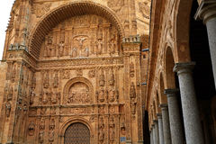 San Esteban Convent in Salamanca of Spain Stock Image