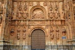 San Esteban Convent in Salamanca of Spain Royalty Free Stock Image