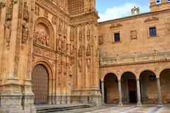 San Esteban Convent in Salamanca at Spain Royalty Free Stock Images