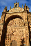 San Esteban Convent in Salamanca Spain Royalty Free Stock Image