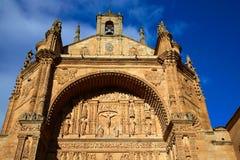 San Esteban Convent in Salamanca Spain Royalty Free Stock Images