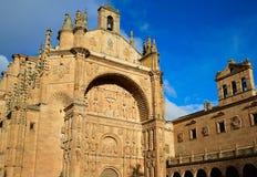 San Esteban Convent in Salamanca Spain Stock Photography